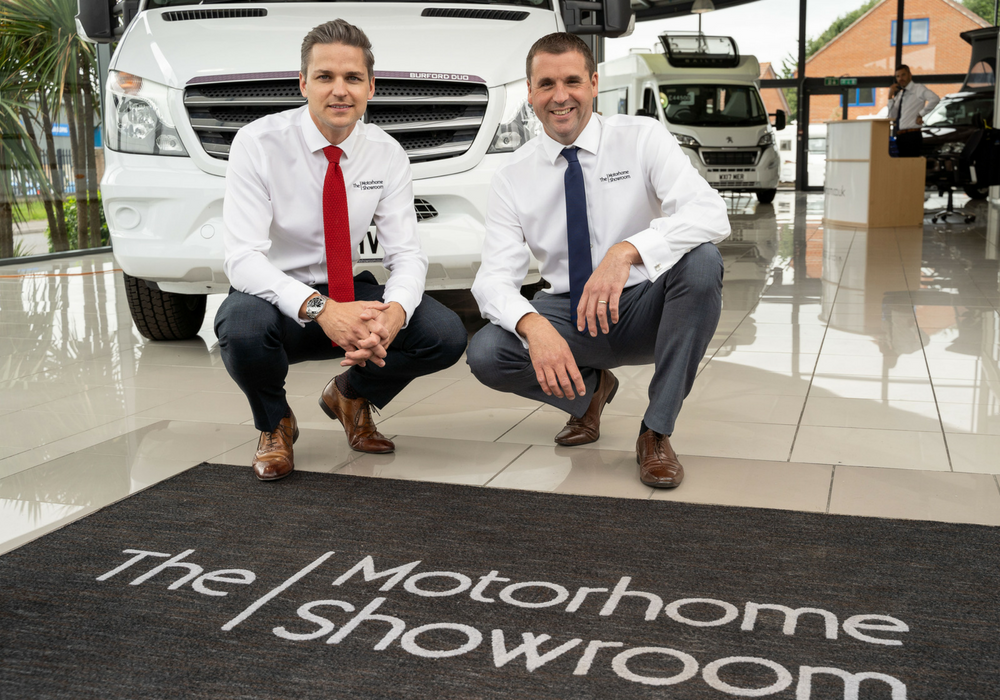 about tom and andy the motorhome showroom 1